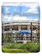Progressive Field Duvet Cover by Frozen in Time Fine Art Photography