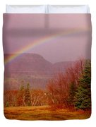 Promise And Hope Cape Breton Duvet Cover by John Malone