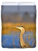 Proud Profile Duvet Cover by Al Powell Photography USA