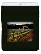 Provence Vineyard Duvet Cover by Lainie Wrightson