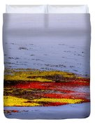 Psychedelic Algae  Duvet Cover by Thomas Young