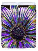Psychedelic Daisy Duvet Cover by Bill Caldwell -        ABeautifulSky Photography