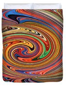 Psychedelic Duvet Cover by Kristin Elmquist