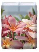 Pua Melia Ke Aloha Maui Duvet Cover by Sharon Mau