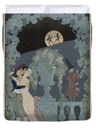 Puppets Duvet Cover by Georges Barbier