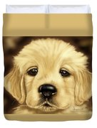 Puppy Duvet Cover by Veronica Minozzi