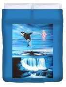 'pure Water Systems' Duvet Cover by Christian Chapman Art