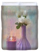 Purity Duvet Cover by Betty LaRue