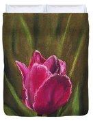 Purple Beauty Duvet Cover by Anastasiya Malakhova