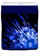 Purple Rain Duvet Cover by Dazzle Zazz