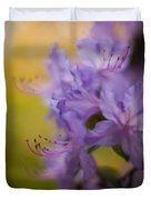 Purple Whispers Duvet Cover by Mike Reid