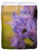 Purple Whispers Duvet Cover by Mike Reid
