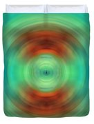 Qi - Energy Art By Sharon Cummings Duvet Cover by Sharon Cummings