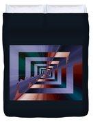 Quantum Conundrum Duvet Cover by Tim Allen