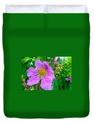 Queen Flower Or Giant Crepe Myrtle Flower Duvet Cover by Lanjee Chee
