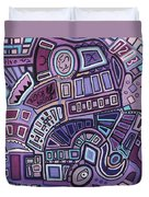 Radio Active Duvet Cover by Barbara St Jean