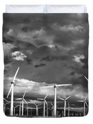 Rage Of The Wind Palm Springs Duvet Cover by William Dey