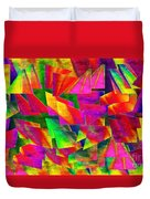 Rainbow Bliss 2 - Twisted - Painterly H Duvet Cover by Andee Design