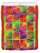 Rainbow Bliss 3 - Over The Rainbow V Duvet Cover by Andee Design