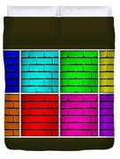 Rainbow Walls Duvet Cover by Semmick Photo