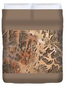 Ram Desert Transjordanian Plateau Jordan Duvet Cover by Anonymous