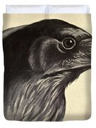 Raven Duvet Cover by Philip Ralley