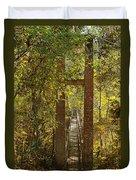 Ravine Gardens State Park In Palatka Fl Duvet Cover by Christine Till