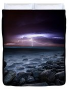 Raw Power Duvet Cover by Jorge Maia