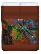 Recapturing Her Soul Duvet Cover by Ilisa  Millermoon