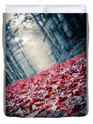Red Carpet Duvet Cover by Edward Fielding