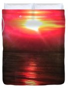 'red Earth' Duvet Cover by Christian Chapman Art