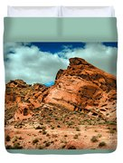 Red Sandstone Duvet Cover by Robert Bales