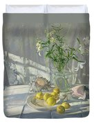 Reflections And Shadows  Duvet Cover by Timothy  Easton