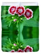 Reflections of a Summer Bouquet Duvet Cover by Aimee L Maher Photography and Art