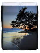 Reflections Of One Duvet Cover by Mike  Dawson