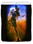 Release - Eagle Nebula 3 Duvet Cover by The  Vault - Jennifer Rondinelli Reilly