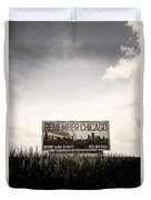 Remember Chicago Duvet Cover by Trish Mistric