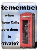 Remember When . . . Duvet Cover by Mike McGlothlen