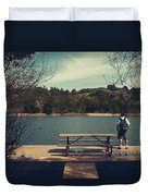 Remembering When Duvet Cover by Laurie Search