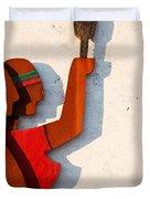 Republic sculpture in Ourem Duvet Cover by Luis Alvarenga