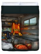 Rescue - Emergency Squad  Duvet Cover by Mike Savad