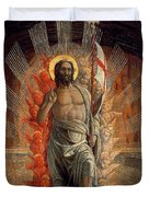 Resurrection Duvet Cover by Andrea Mantegna