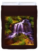 Retreat For Soul. Rest And Be Thankful. Scotland Duvet Cover by Jenny Rainbow
