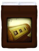 Retro Clock Duvet Cover by Les Cunliffe