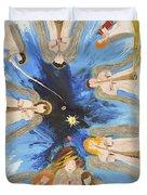 Revelation 8-11 Duvet Cover by Cassie Sears