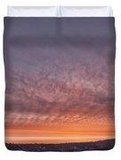 Rhymney Valley Sunrise Duvet Cover by Steve Purnell