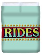 Rides Duvet Cover by Skip Willits