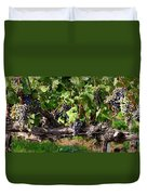 Ripening Grapes Duvet Cover by Carol Groenen
