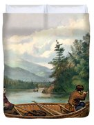 River Hunting Duvet Cover by Gary Grayson