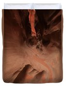 River Of Sandstone Duvet Cover by Adam Jewell